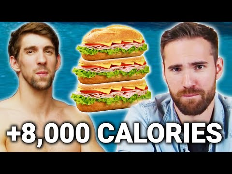 Thumbnail: We Try To Eat Like Michael Phelps For A Day