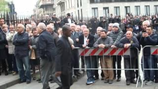 Immagini: Milano rende l'ultimo grande omaggio a Cesare Maldini