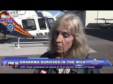 MUST WATCH: One-on-one Interview with 72-Year-Old Woman Who Survived 9 Days in Wilderness - FNN