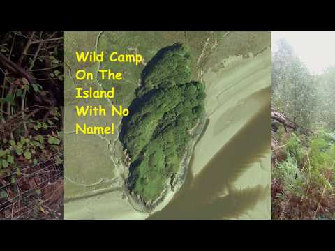 Wild Camping North Wales - The Island With No Name!