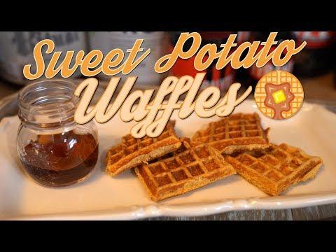 Sweet Potato Waffles!