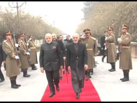 PM Modi meets Afghan President Mohammad Ashraf Ghani