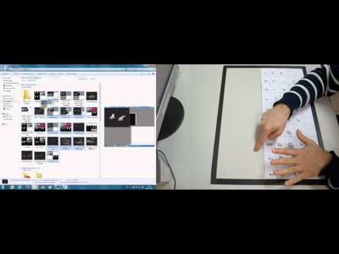 Gestured Based Human Computer Interaction Application Using Kinect For Windows