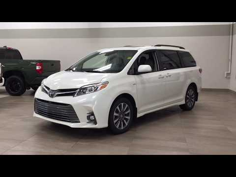 2020 Toyota Sienna XLE AWD Review