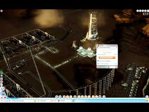 SimCity Fusion Power Plant Activation