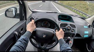 Renault Kangoo II Maxi   POV Test Drive #479 Joe Black
