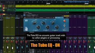 PreSonus Fat Channel Plug-in Demo: The Tube Mid EQ