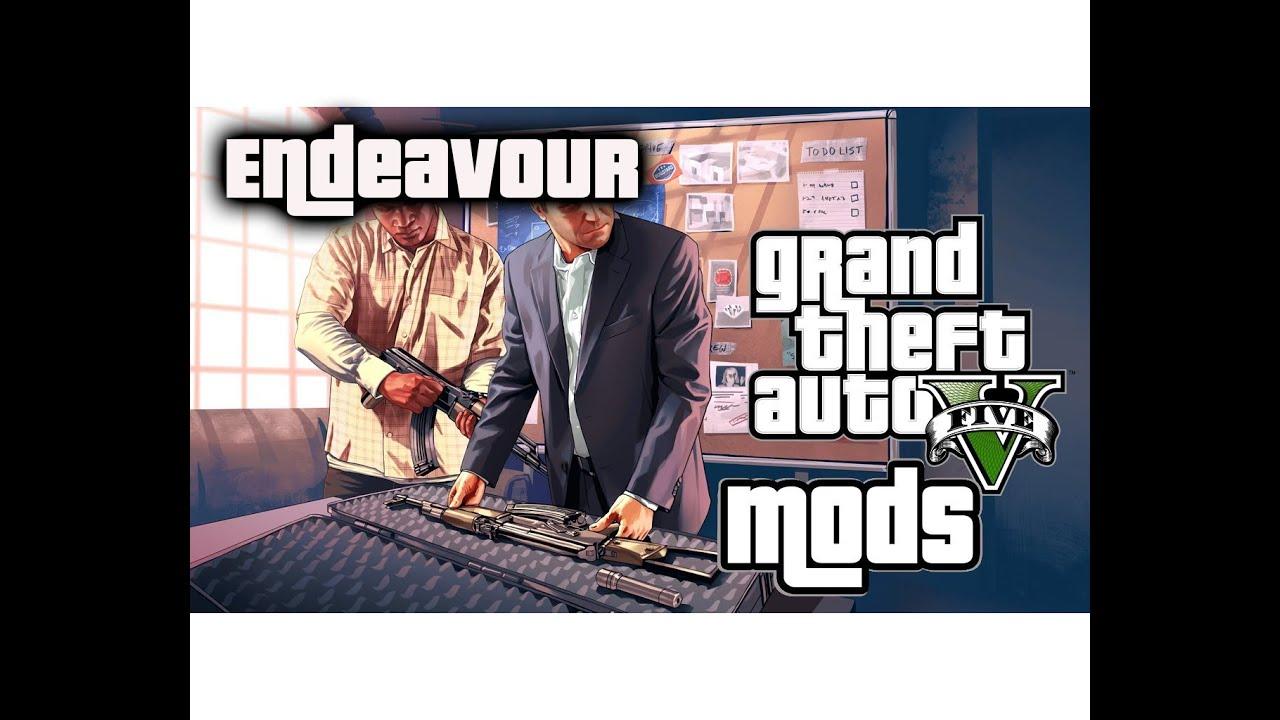 Endeavour Mod Menu v1 2 | GTA 5 Mods & Scripts