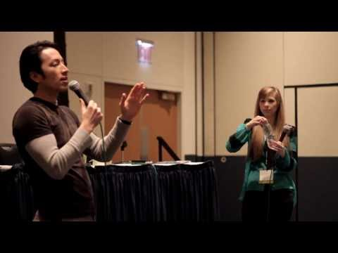 Todd Haberkorn & Alexis Tipton panel at Setsucon 2014