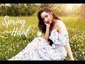 Feminine Spring Haul || Try On 🌸 (봄하울)