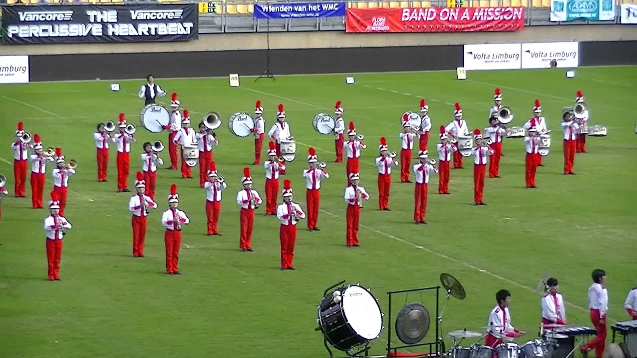 Bellaire High School Marching Band Drumline
