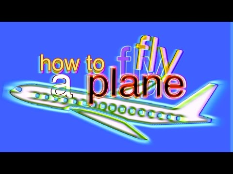 how to fly a plane video
