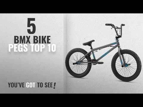 "Top 10 BMX Bike Pegs [2018]: Mongoose Legion L20 20"" Wheel Freestyle Bike, Grey, One Size"