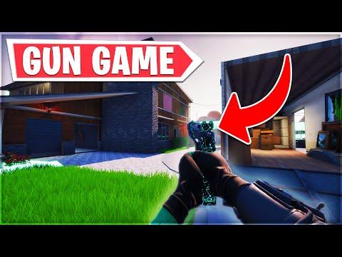 *NEW* NUKETOWN MAP with GUN GAME in Fortnite Creative! (So Fun)