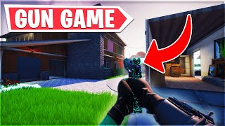 *NEW* NUKETOWN MAP with GUN GAME in Fortnite Creative! (So Fun)