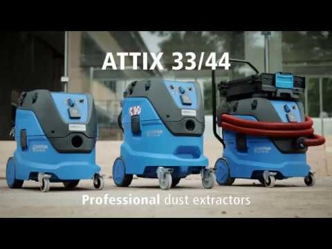 Attix 33 Attix 44 Industrial Vacuum Cleaners Dust Extractors NZ Models