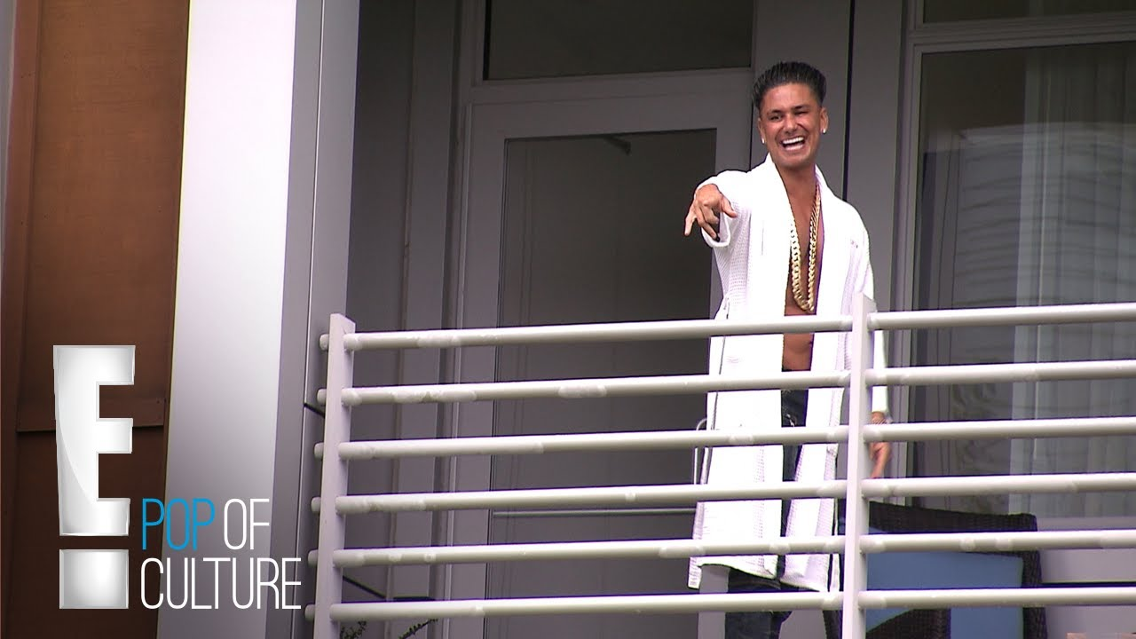 Pauly D Says Iconic Jersey Shore Catch Phrase Reunion Road Trip