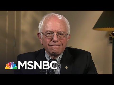 Bernie Sanders Talks Flint Toxic Water Crisis, Democratic Primary | Rachel Maddow | MSNBC