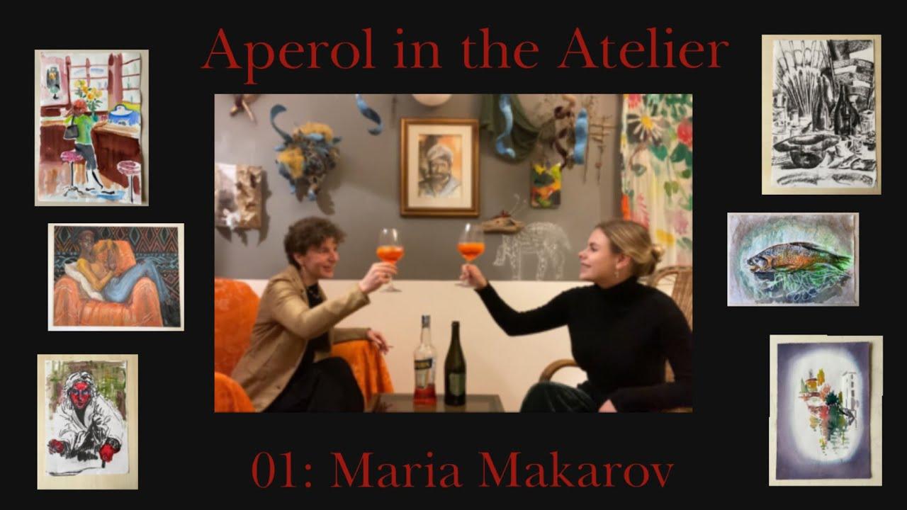 Aperol in Maka's Atelier