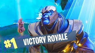 EASY WAY TO KILL THANOS and Get VICTORY ROYALE - Fortnite Cinematic Gameplay