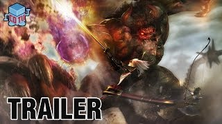 Toukiden The Age Of Demons PS Vita Official Gameplay Trailer