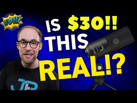 BEST Budget Microphone for $29.99! FIFINE K669 UnBoxing and Review!