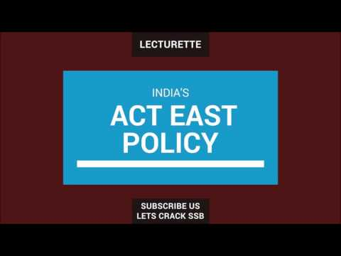 All You Should Know About India's Act East Policy
