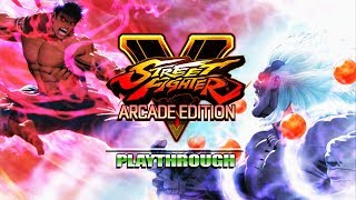 This Ending Is...Interesting - Arcade Run SFIV and SF5: Street Fighter V thumbnail