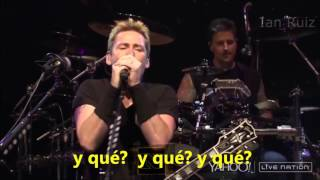 Nickelback - Silent Majority (VIDEO FAN) [Subtitulada En Español] HD