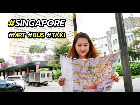 วิธีการเดินทางในสิงคโปร์ รถไฟฟ้า MRT รถเมล์ รถแท็กซี่