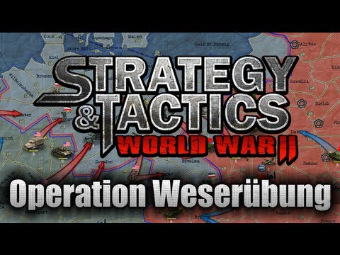 Strategy & Tactics: World War II / Walkthrough / Operation Weserübung