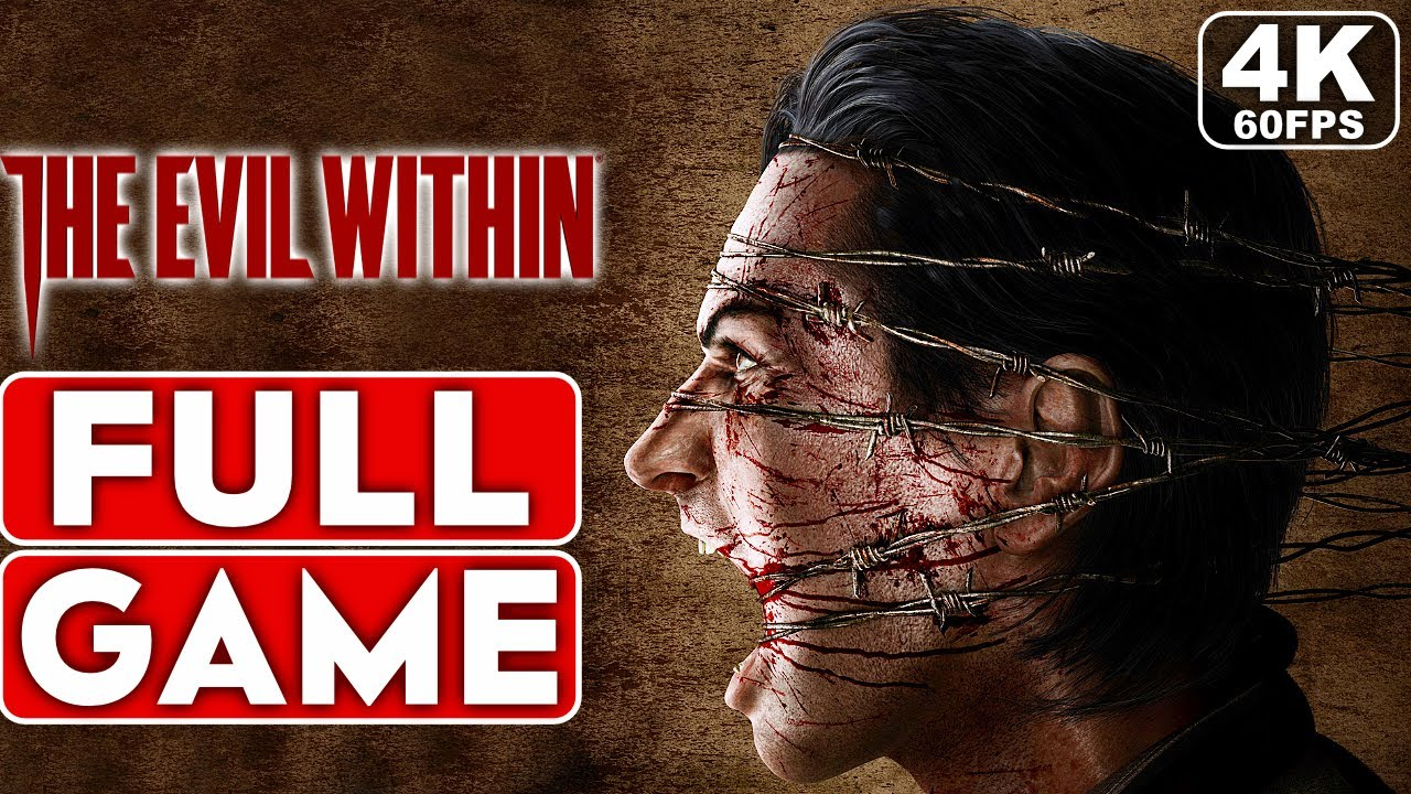 THE EVIL WITHIN REMASTERED Gameplay Walkthrough Part 1 FULL GAME [4K 60FPS PC ULTRA] - No Commentary