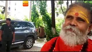 हरिद्वार-अखिल भारतीय अखाड़ा परिषद के राष्ट्रीय अध्यक्ष महंत नरेंद्र गिरी ने आचार्य बालकृष्ण का ...