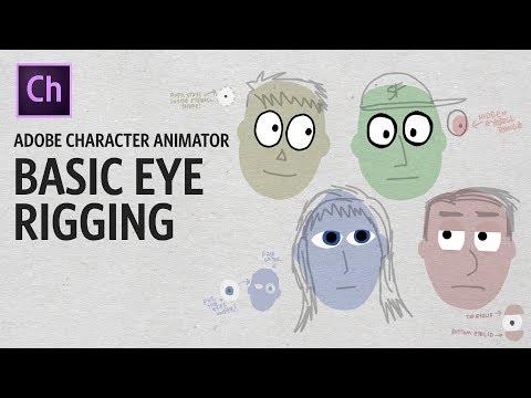 Basic Eye Rigging (Adobe Character Animator Tutorial)