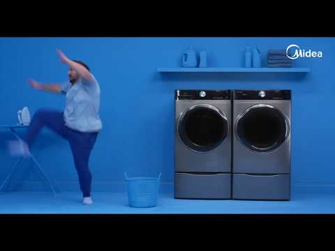 Midea 5.2 Cu Ft Front Load Washer - The Martial Artist