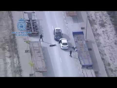 Trepidante persecución policial en Zaragoza para arrestar a unos ladrones de móviles