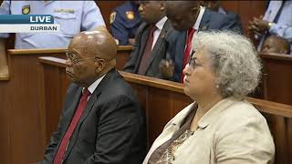 Zuma appears in court: Corruption case postponed to June
