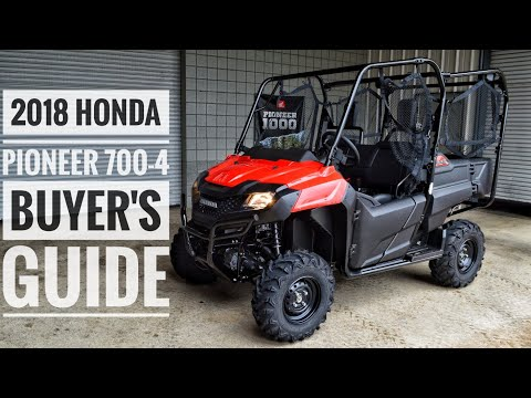2018 Honda Pioneer 700-4 Model Lineup Explained / Differences | UTV / Side by Side Buyer's Guide