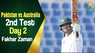Pakistan vs Australia 2018 - 2nd Test Day 2- Fakhar Zaman press conference at Abu Dhabi thumbnail