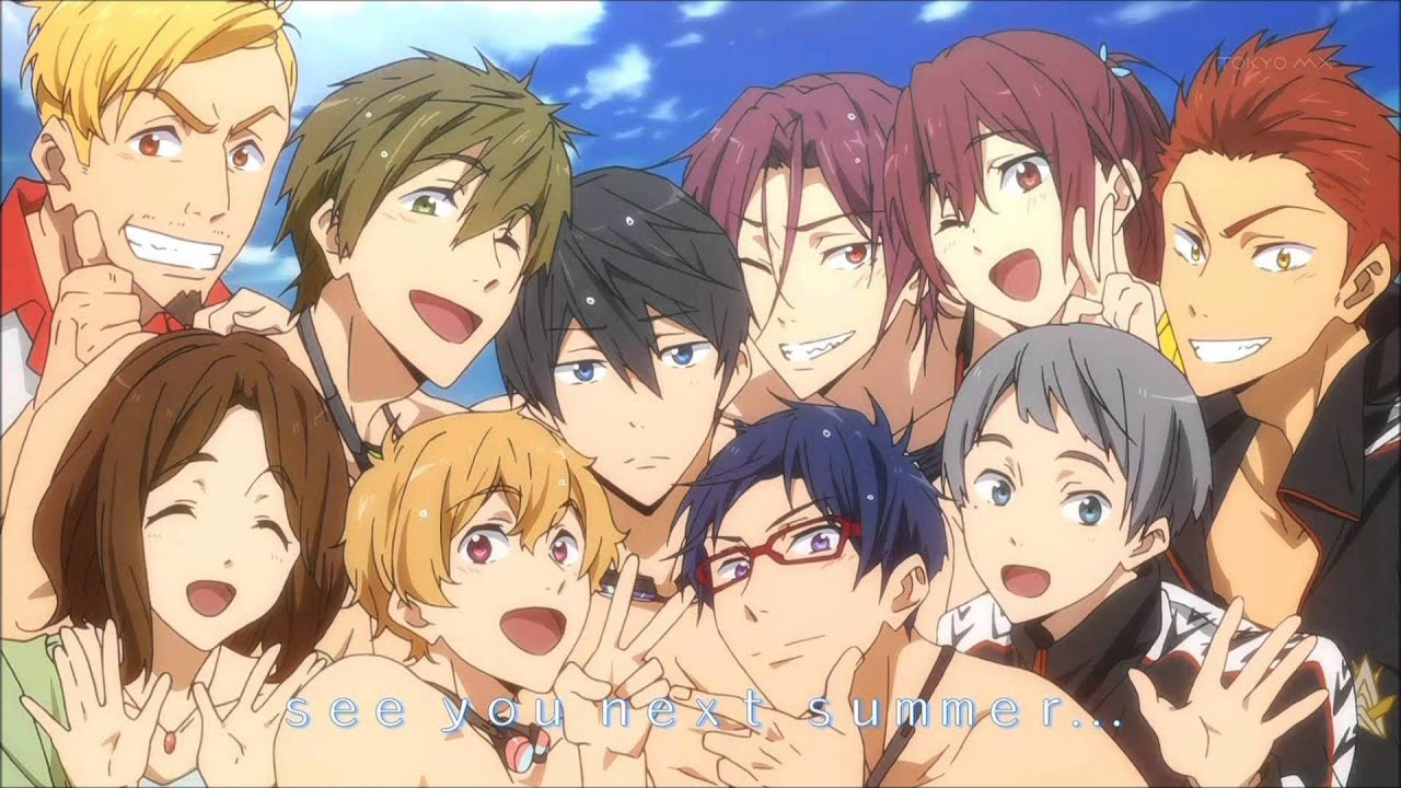 ... Free! Is A Sport Related Anime Series Counting Two Season (Free!  Iwatobi Swim Club, Free! Eternal Summer), A Light Novel (High Speed), ...