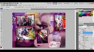 Turotial Kolase di photoshop - How to make a photo collage in photoshop