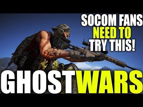 WHY SOCOM FANS NEED TO TRY GHOST RECON WILDLANDS GHOST WARS | MOST REALISTIC 3RD PERSON PVP GAME