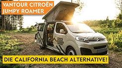 Vantour Citroën Jumpy Roamer - die Alternative zum California Beach