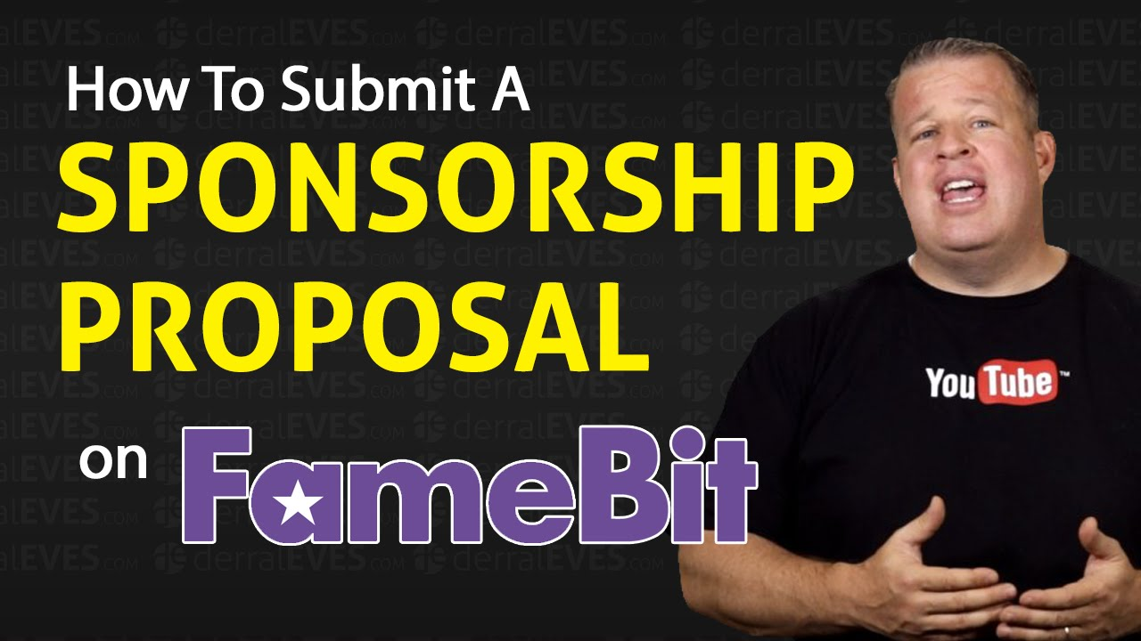 How to Submit a Sponsorship Proposal For