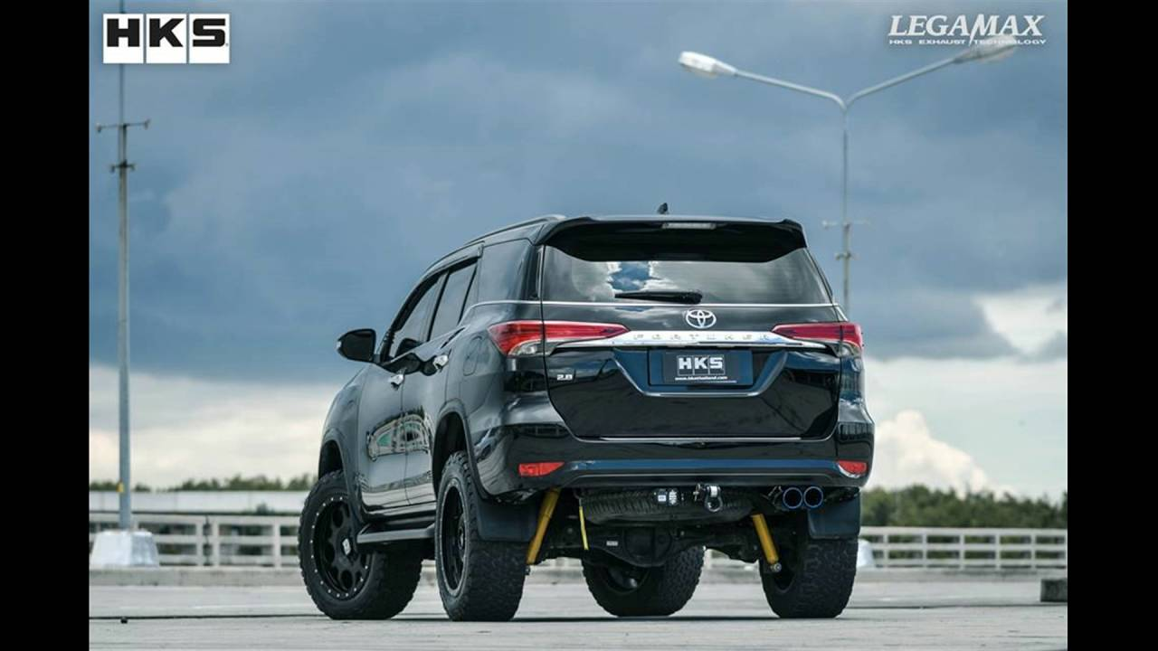 Dia Show Tuning Hks Thailand Co Ltd Toyota Fortuner W Tail Youtube