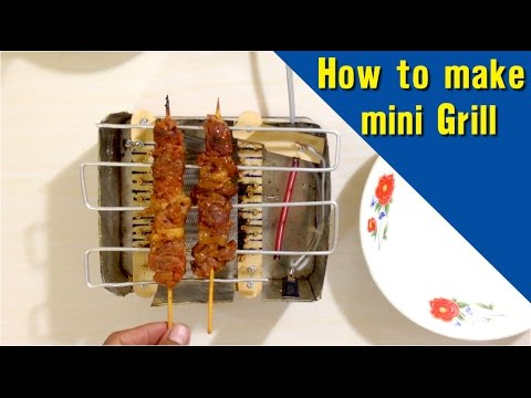 How to make mini Grill, at home easy simple BBQ