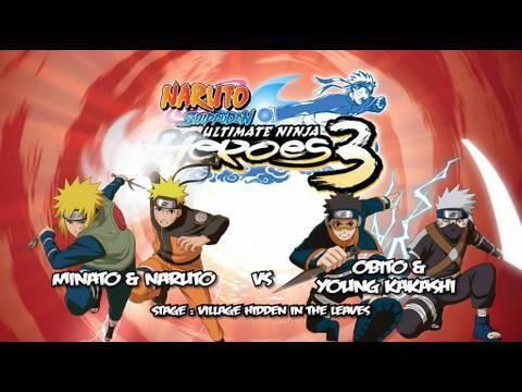 psp game naruto ultimate ninja heroes 3 for free