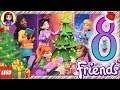 Day 8 Build your Christmas Tree Decorations - Lego Friends Advent Calendar 2018
