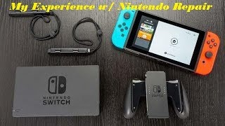 My Experience With Nintendo Switch Warranty Repair!!!