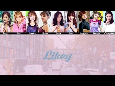 TWICE - LIKEY MV + Lyrics Color Coded HanRomEng